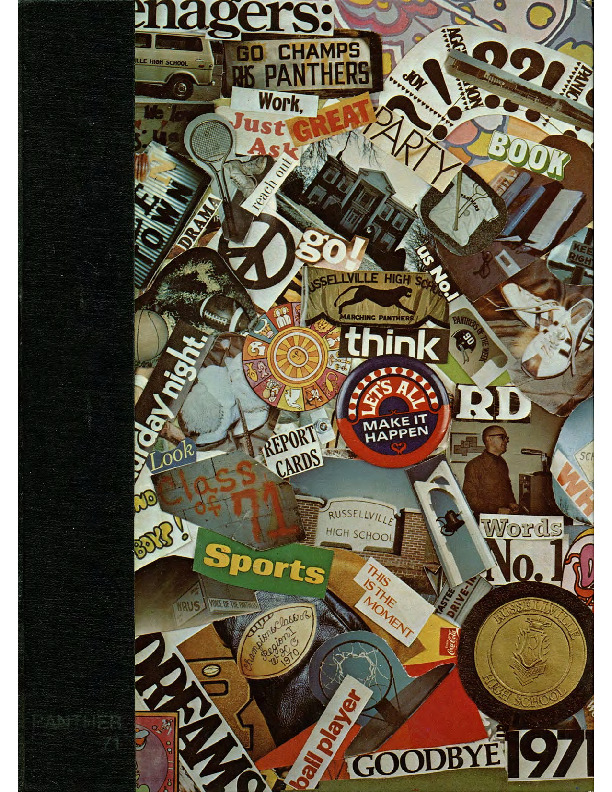 Russellville High School Yearbook, 1971, small.pdf